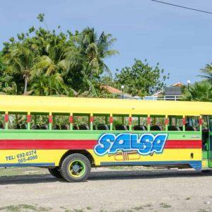 openbaar vervoer op Curacao onbetrouwbaar