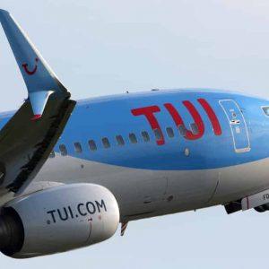 TUI vlucht naar Curacao