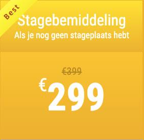 Pakket Stagebemiddeling