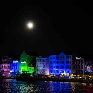 Curacao bij nacht