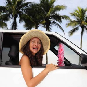 Stage auto Curacao rijden